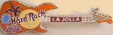 Hard Rock Cafe LA JOLLA 1999 Sea Shells GUITAR PIN - Orange - HRC Catalog #4341