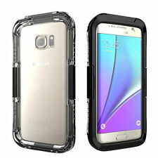 Waterproof Shockproof Dirtproof Cover Case For Samsung Galaxy S6 S7 edge S8 Plus