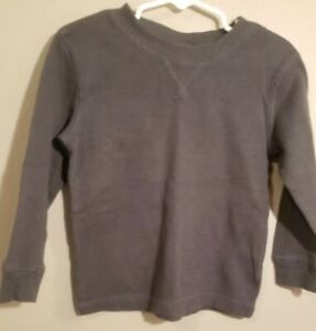 Circo-Toddler-Boy-Long-Sleeve-Thermal-Gray-T-Shirt-Size-3T