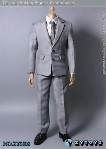 """1//6 Scale Male Causal Jacket Suit Clothing Sets Fit 12/"""" PH Figure Body Model Toy"""