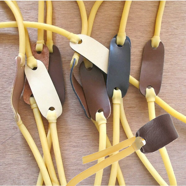 3/5/10/20 Pcs Elastica Bungee Rubber Band for Slingshot Hunting Fishing Catapult