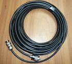 Radio Scanner Antenna Cable RG58 32FT 10M Fitted PL259 and BNC Plug