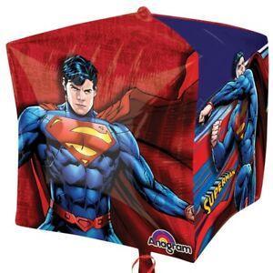 SUPERMAN-BALLOON-15-034-SUPERMAN-PARTY-SUPPLIES-ANAGRAM-3-D-CUBEZ-BALLOON