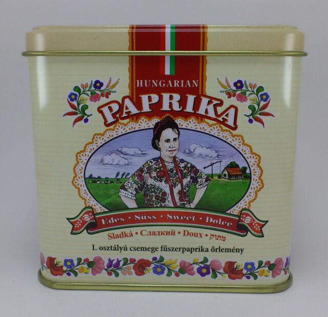 Hungarian Paprika Sweet Kalocsai Paprika 50g / 1.8 oz. Tin + FREE wooden scoop