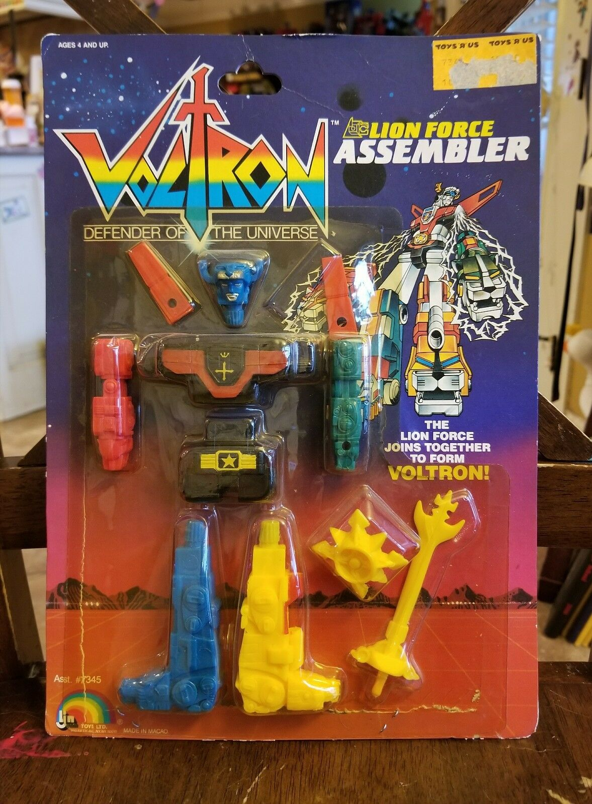 VOLTRON   Defender of the Universe - Lion Force Assembler nuovo MOSC