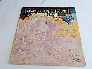 Savoy-Brown-Hellbound-Train-LP-1972-Parrot-Gatefold-Vinyl-Record