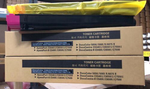 252 242 260 250 7655, Xerox MAGENTA Toner Doppelpack // Doublepack DC 240