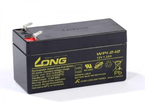 Akku kompatibel EP1,2-12 12V 1,2Ah Blei Batterie wiederaufladbar auslaufsicher