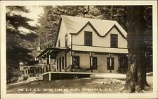 Greenfield NH Union Camping Club Real Photo Postcard #2