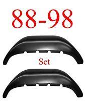 88 98 Inner Rear Wheel Arch Set, Rust Reapir, Chevy Gmc Truck, 1.2mm Thick