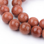 1 strand 15 inch Synthetic Goldstone Beads TEB24-pls pick a size