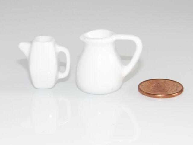 NEW DRINK COFFEE POT/JUG/CREAMER /FOOD FOR/FITS DOLLHOUSE MATTEL BARBIE 1/6 DOLL