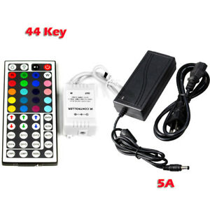 12V-5A-60W-Power-Supply-44-Key-IR-Remote-Control-for-3528-5050-RGB-LED-Strip