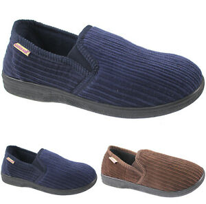 MENS SLIPPERS COSY WINTER SOFT WARM
