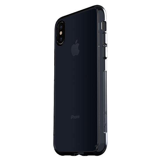 new products ccb4c 5de7c iPhone X Case Qmadix C Series Clear Polycarbonate TPU Bumper - Smoke