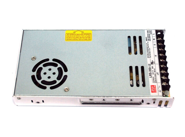 1pc DC Switching Power Supply LRS-350-12 12V 29A 350W AC90~264V Mean Well MW
