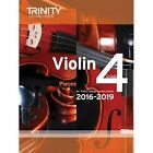 Violin Exam Pieces Grade 4 2016-2019 (Score & Part) by Trinity College London (Paperback, 2015)