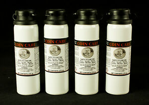 COIN-CARE-CLEANER-GOLD-SILVER-NICKEL-COPPER-BRONZE-4-BOTTLES-TOTAL