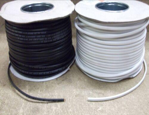 Negro Blanco 0.5mm 3amp Cable Plano Doble Iluminación 3-100 pies de longitud que tu elijas