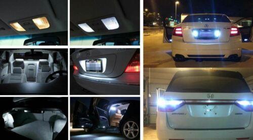 18x White Interior Reverse Backup LED Light Bulbs Fits 2004 2005 2006 Acura TL