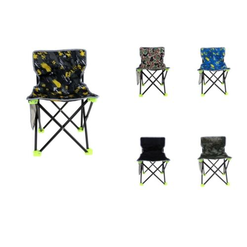 Folding Chair Camping Fishing Garden Festival Lightweight Stool 36x36x55cm