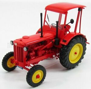 MINICHAMPS HANOMAG   R35 TRACTOR WITH ROOF 1955   RED