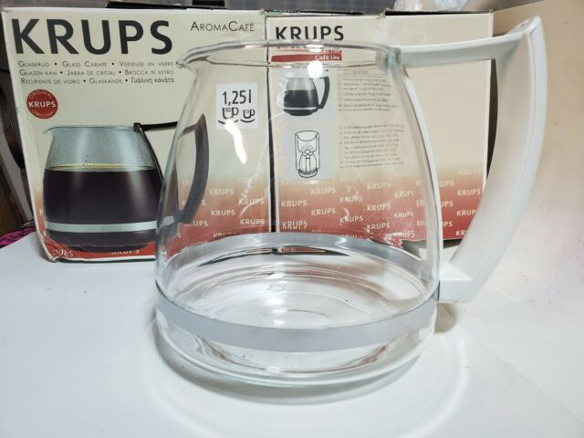 Krups 10 Cup Coffee Replacement Carafe, Krups Glass Coffee Pot Replacement