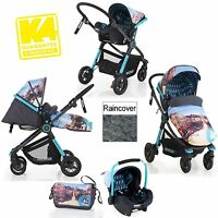 Koochi Litestar Travel System San Fran Two Way Pushchair And Group 0+ Car Seat
