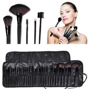Image is loading 32pcs-Professional-Soft-Cosmetic-Eyebrow-Shadow-Makeup- Brush- 665910402682e