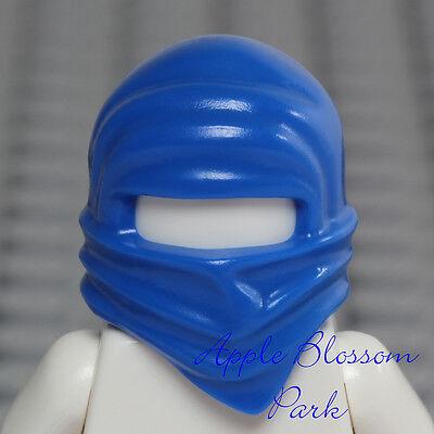 Lego Ninja Black Minifig Hood Wrap Head Gear NEW