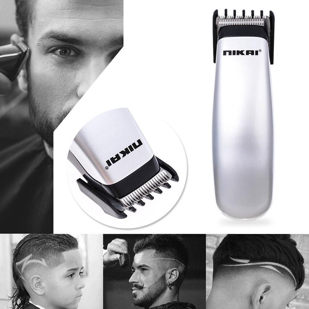 Battery Powered Hair Clipper Pro Electric Trimmer Cutter Hair Cutting  Machine
