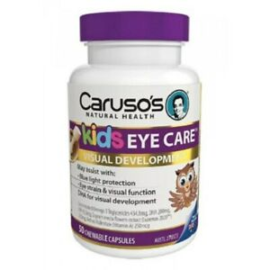 Caruso's Kids Blue Light Eye Protect 50 Chewable Capsules