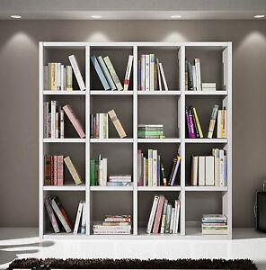 Dettagli su Mobile Parete Attrezzata Libreria Salotto Soggiorno