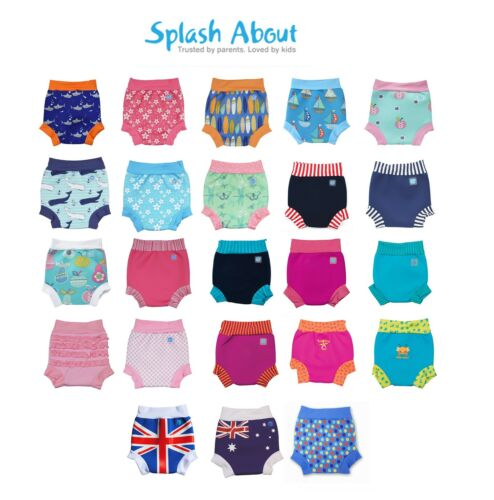 Splash About Happy Nappy Baby and Toddler Neoprene Reusable Swim Nappy