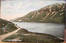 Irish Postcard LOUGH SALT County DONEGAL Ireland Lawrence Coleraine to Boston MA