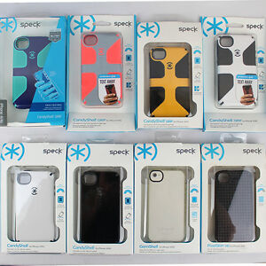 hot sale online ad5ce 3d439 Details about Speck iPhone 4s/4 Case CandyShell Grip Cover Hard Shell  Bumper Skin