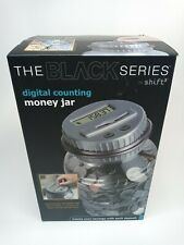 Bank Digital Counting Money Jar The Black Series Us Coins Accepted New
