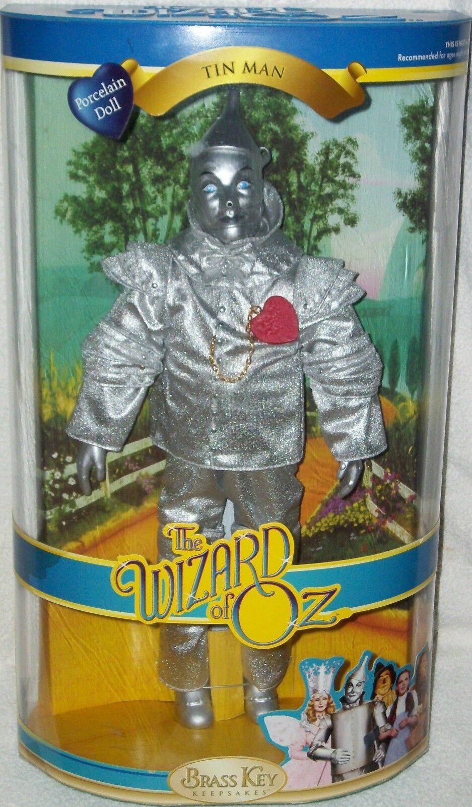Doll Wizard of Oz Tin Man figure Brass Key Xmas Rare Collectible Gift Tinman New