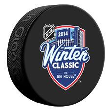 2014 NHL Winter Classic Souvenir Style Puck- Toronto vs Detroit