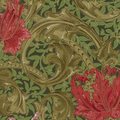 Moda Fabric Morris Holiday 1905 Single Stem Pine Per 1//4 Metre