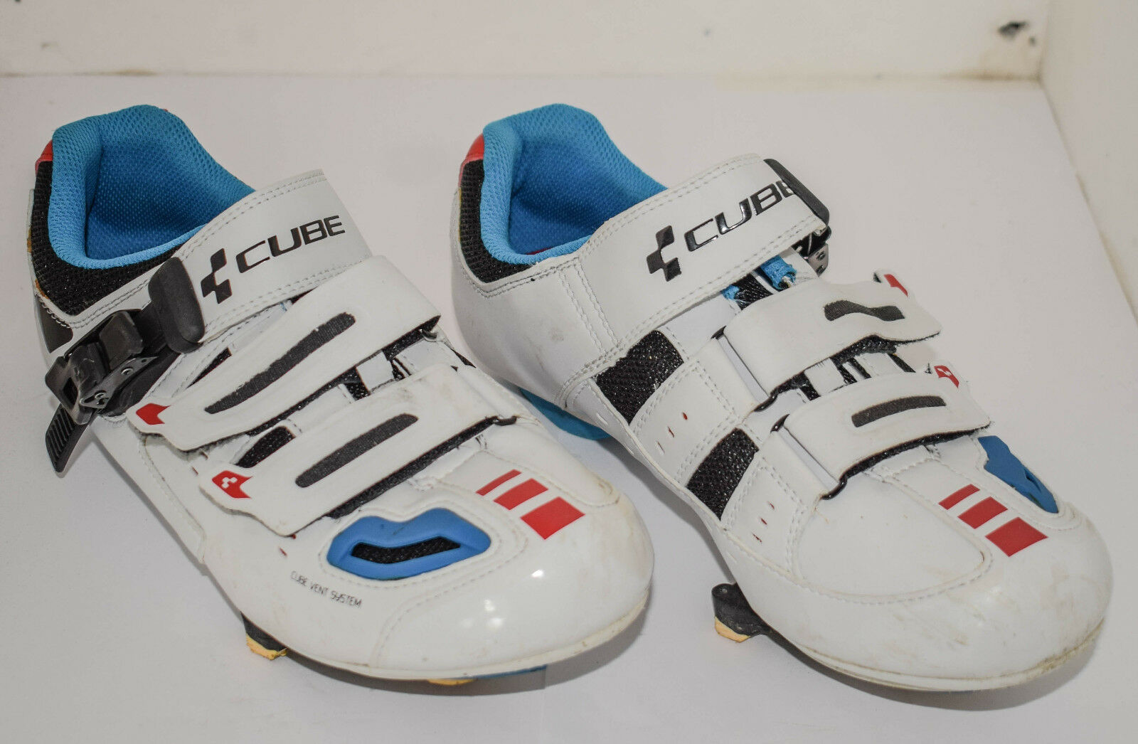 shoes Road Bike Cube Road pro Size 39 Teamline Cycling shoes Road Bike Used