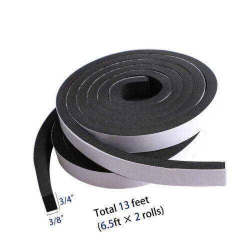 High Density Foam Tape Waterproof Sealing Strip CR Strips Neoprene Single-Sid...