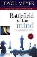 Battlefield Of The Mind Winning The Battle In Your Mind Paperback By Joyce Meyer on sale