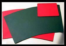 XL-Format Schreibtisch NEU Schreibunterlage + Mousepad LEDER Einzelanfertigung *