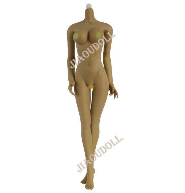 1 6 Female Seamless Large Bust Brown Figure Body No Head JOQ-07F-BM