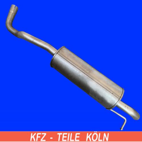 // 1.2 TSI   Endschalldämpfer Skoda  Rapid KG3 Seat  Toledo IV NH1/_NH3