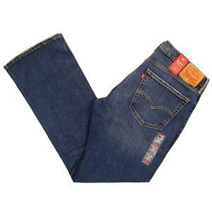 Details about Levis 527 Jeans Mens New Slim Boot Cut Size 36 x 32 BEBOP (DARK BLUE) Levi's