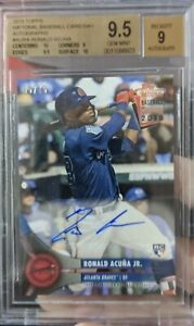 2018-Topps-National-Card-Day-Ronald-Acuna-Jr-Braves-RC-Rookie-AUTO-75-Rare