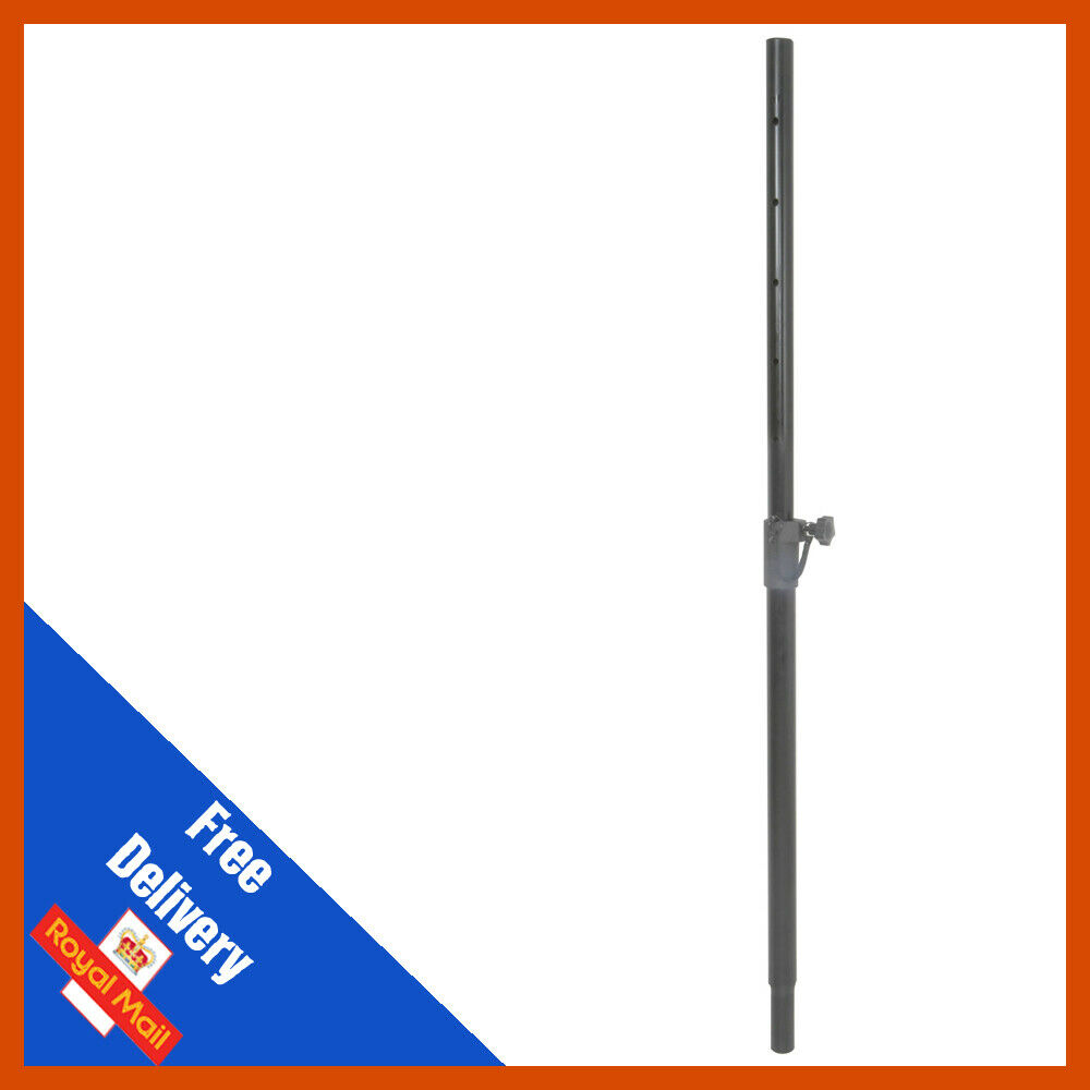QTX Sound Lightweight Telescopic 35mmØ Extendable Mounting Speaker Pole Black