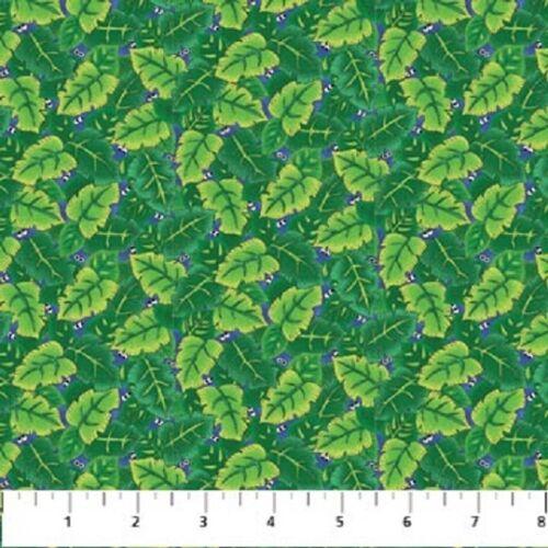 I Spy Amazon Cotton Quilt fabric by Northcott Panel Monkey Alligator Bugs Birds